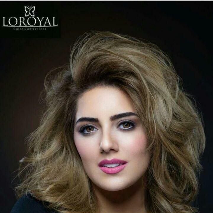 عدسات لورويال بالشكل الجديد في عيون الجميلة سفيرة عدسات لورويال الجديدة المتألقة هيا عبد السلام العدسة التي اجتمع World Hair Hair Styles Blow Dry Hair