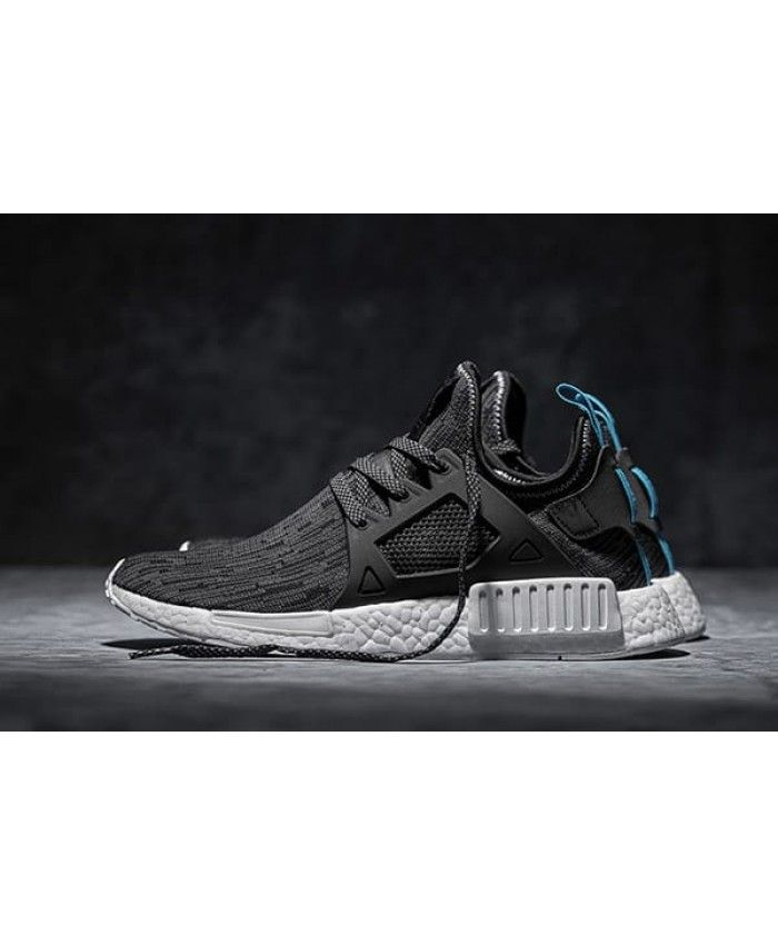 0d0374dabdc93 Adidas NMD XR1 Black Royal Blue Shoes