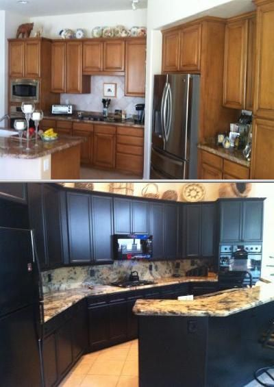 Transform your cabinets to make it look like a furniture. This ...