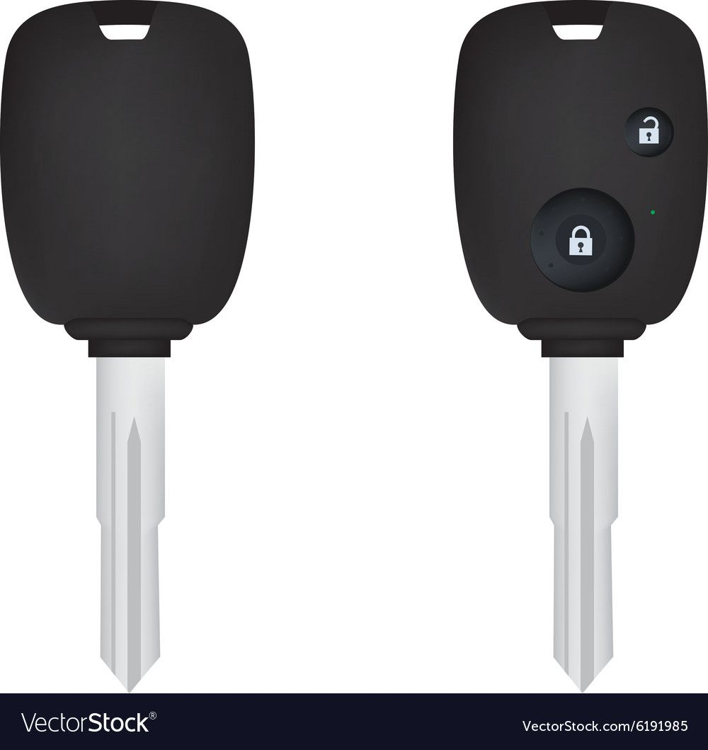Car Keys Front And Back View Realistic Electronic Car Key Download A Free Preview Or High Quality Adobe Illustrator Ai Eps Pdf And Hig Car Key Vector Images
