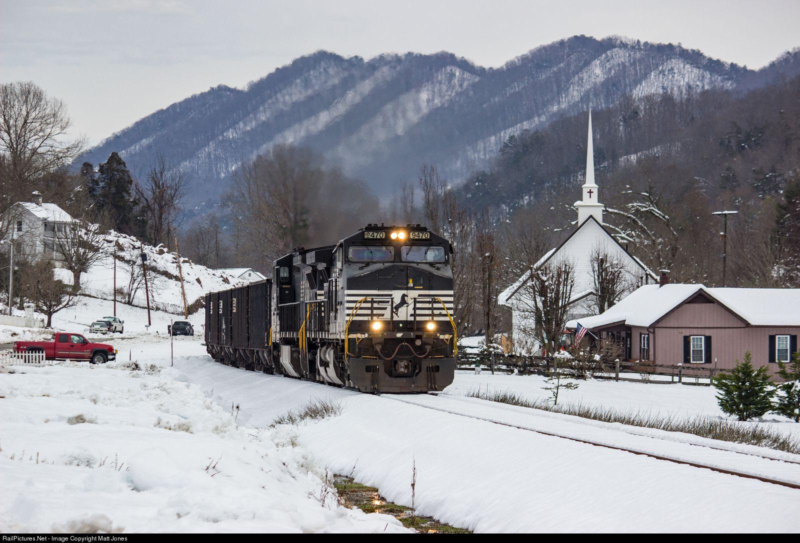 Railpictures Net Photo Ns 9470 Norfolk Southern Ge C44 9w Dash 9 44cw At Gate City Virginia By Matt Jones Trens