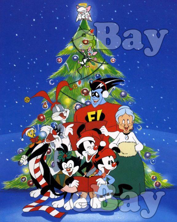 animaniacs christmas cartoon color photo warner bros animation freakazoid - Animaniacs Christmas