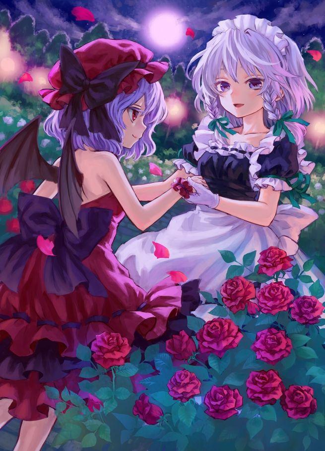 among the roses ama tou かわいいアニメの写真 イラスト アニメの女の子