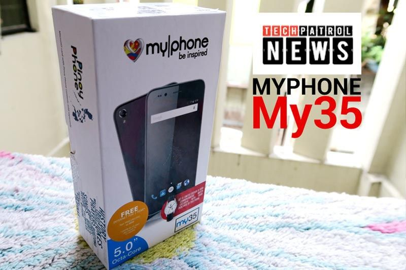 MyPhone My35 Unboxing And Initial Review » Tech Patrol