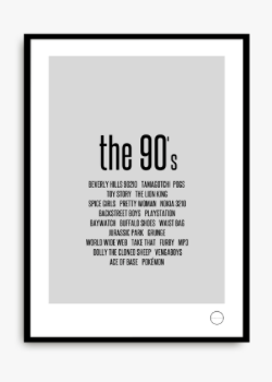 Remember the 90's via Wallboe Interior. Click on the image to see more!