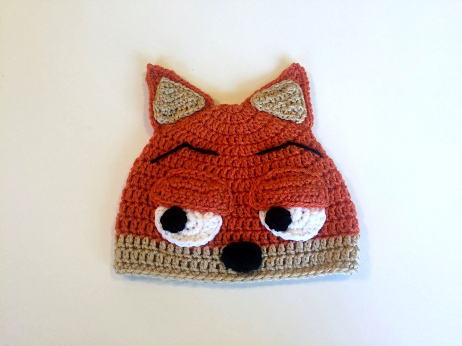 Zootopia nick wilde hat crochet nick wilde beanie halloween zootopia nick wilde hat crochet nick wilde beanie halloween costume zootopia disney movies sloth costume nick bankloansurffo Image collections