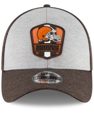 best service 41e59 f2d9f ... 2018 NFL Sideline Road Official Flex Hat – Heather Gray Brown. New Era  Cleveland Browns On Field Sideline Road 39THIRTY Stretch Fitted Cap - Brown  L XL