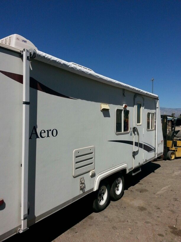 New AE Awning ready for the summer.!!!! | Recreational ...