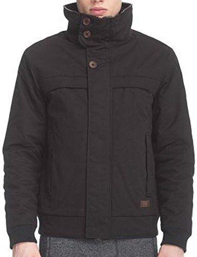 Vegan Streetwear Herren Owen Jacke Mens Black Ragwear Jacket ZukXiTwOP