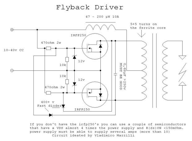The Zvs Driver Induction Induction Heating Heater