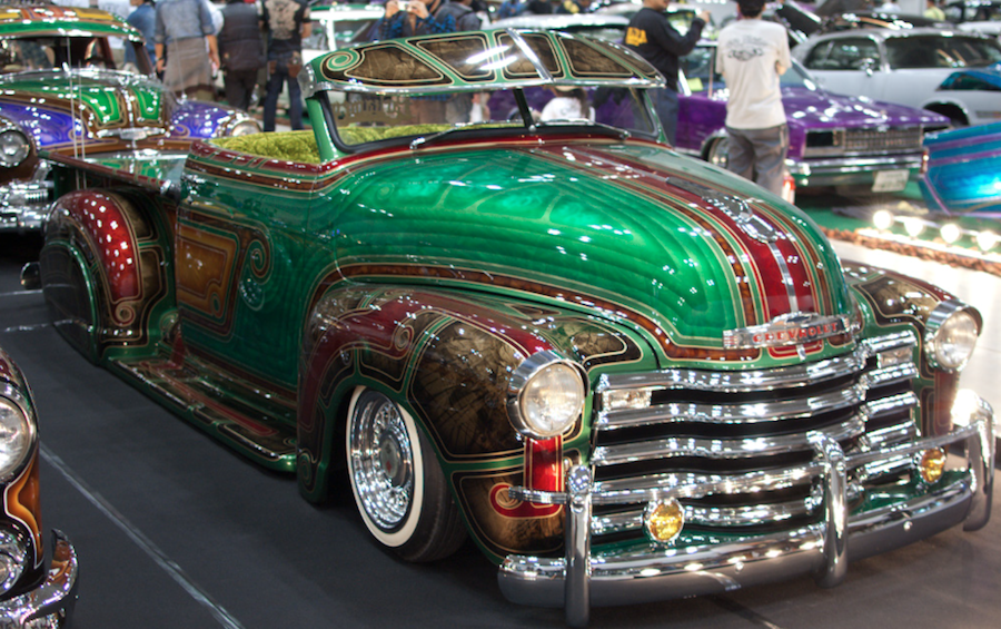 """Custom Paint Lowrider: A Line From Linda: Tom Wolfe's """"The Kandy-Kolored"""