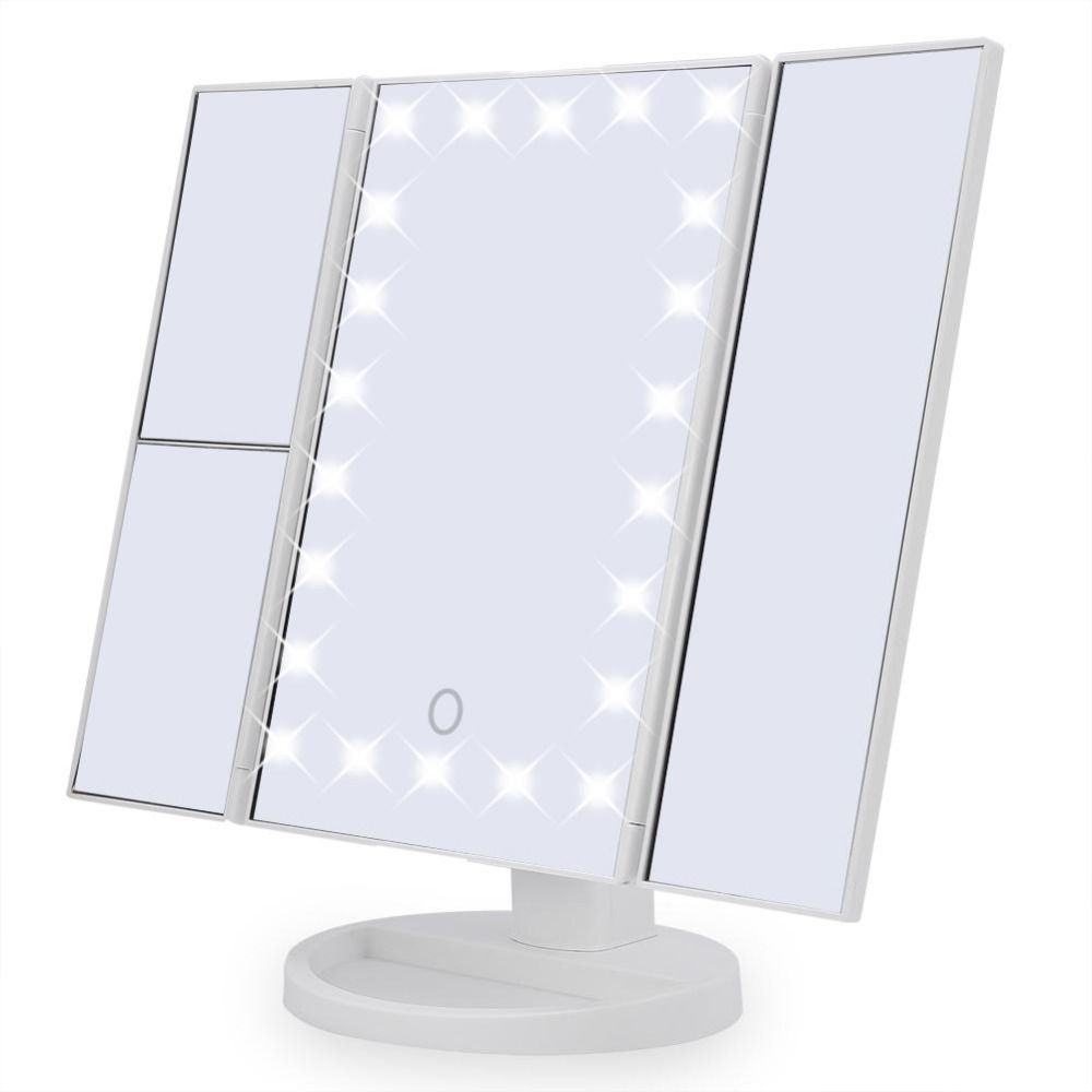 22 99 Magnifying Touch Screen Vanity Mirror With 22 Led