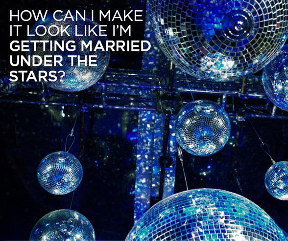 Awesome Under The Stars Wedding Theme Gallery - Styles & Ideas ...