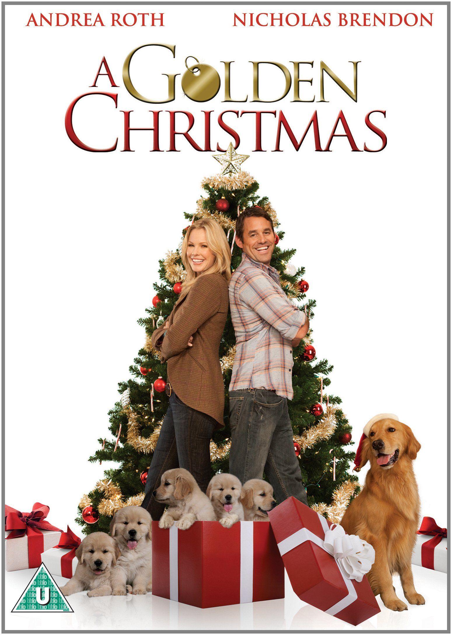 A Golden Christmas Dvd Amazon Co Uk Andrea Roth Nicholas Brendon Elisa Donovan Bruce Davison Alley Mills Christmas Movies Christmas Dvd Hallmark Movies
