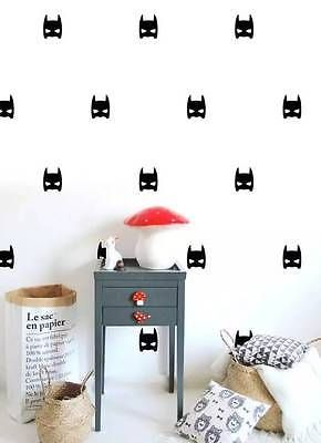 Batman Mask 20 Removable Wall Stickers Wall Decor - $ 8.95 ONLY! Get yours here  sc 1 st  Pinterest & Batman Mask 20 Removable Wall Stickers Wall Decor - $ 8.95 ONLY! Get ...