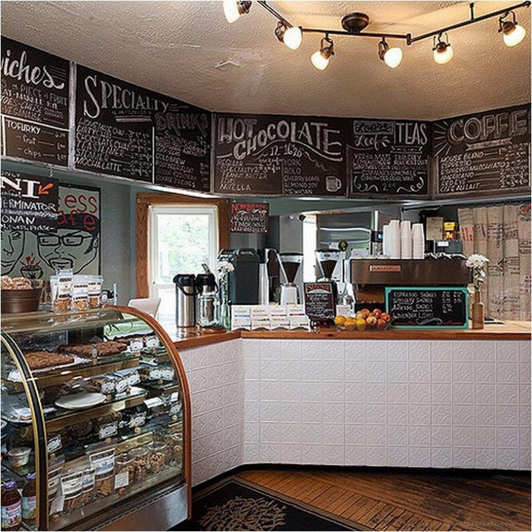 55 Awesome Small Coffee Shop Interior Design With Images Cozy