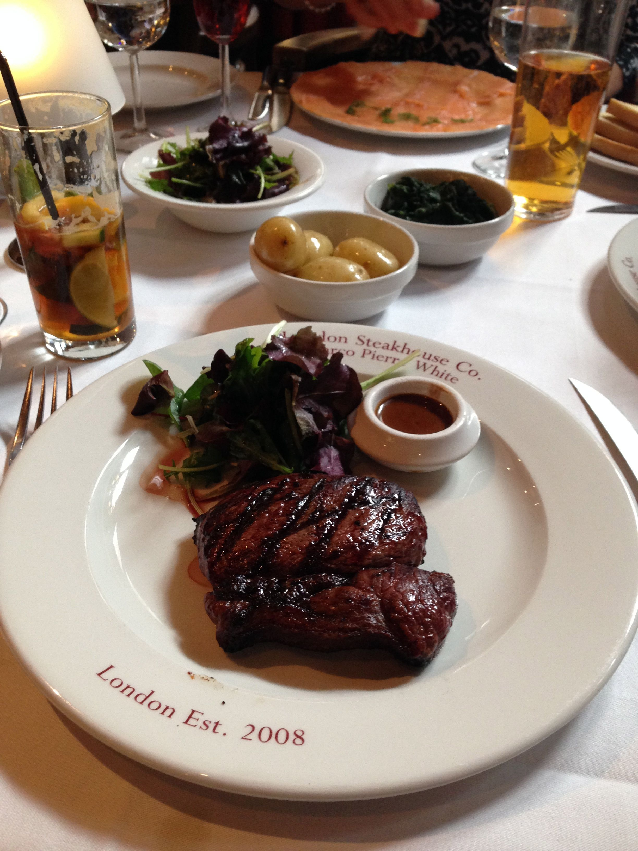 Marco Pierre White's Steakhouse - Petticoat Lane. Ate here today, beautiful food.