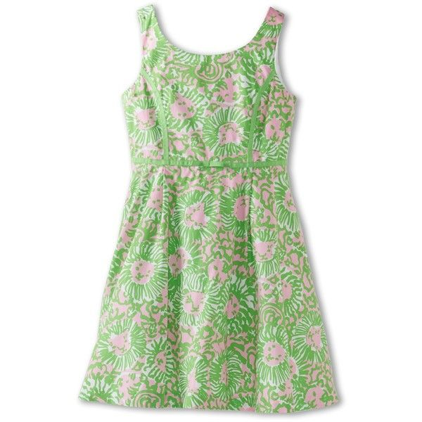 Lilly Pulitzer Kids Mini Gosling Dress (Toddler/Little Kids/Big Kids) ($35) ❤ liked on Polyvore featuring cabana pink