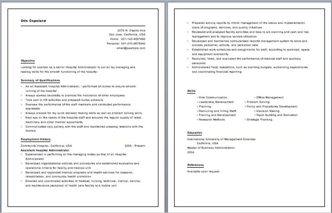 curriculum vitae medical doctor template httpwwwresumecareerinfo