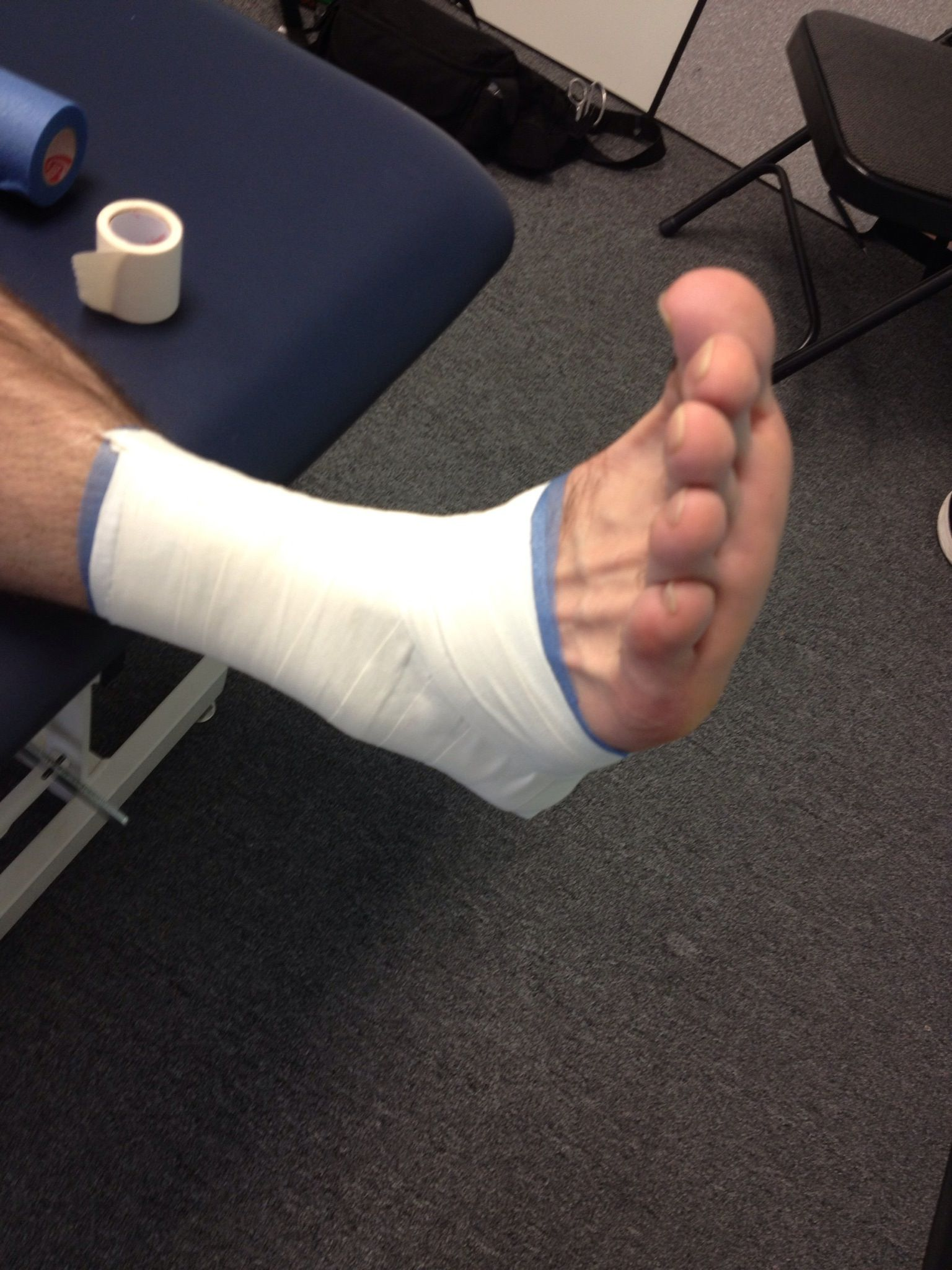 How to tape an ankle recipe sprained ankle ankle