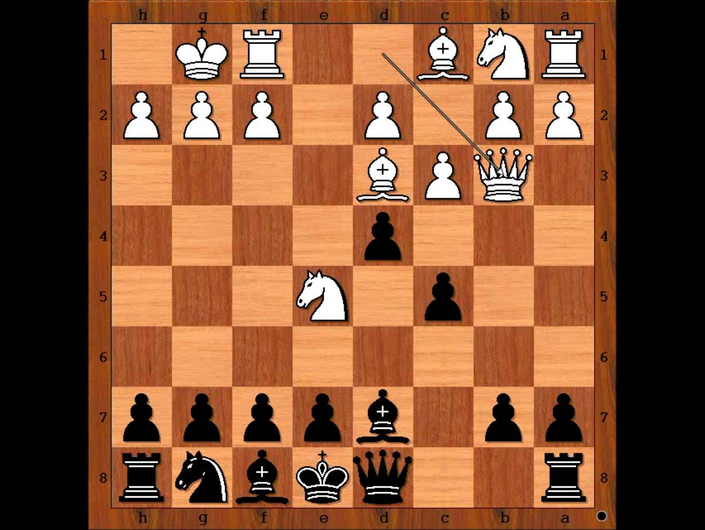 Chess Olympiad 2014 Echeverria vs Nekrasova Chess game