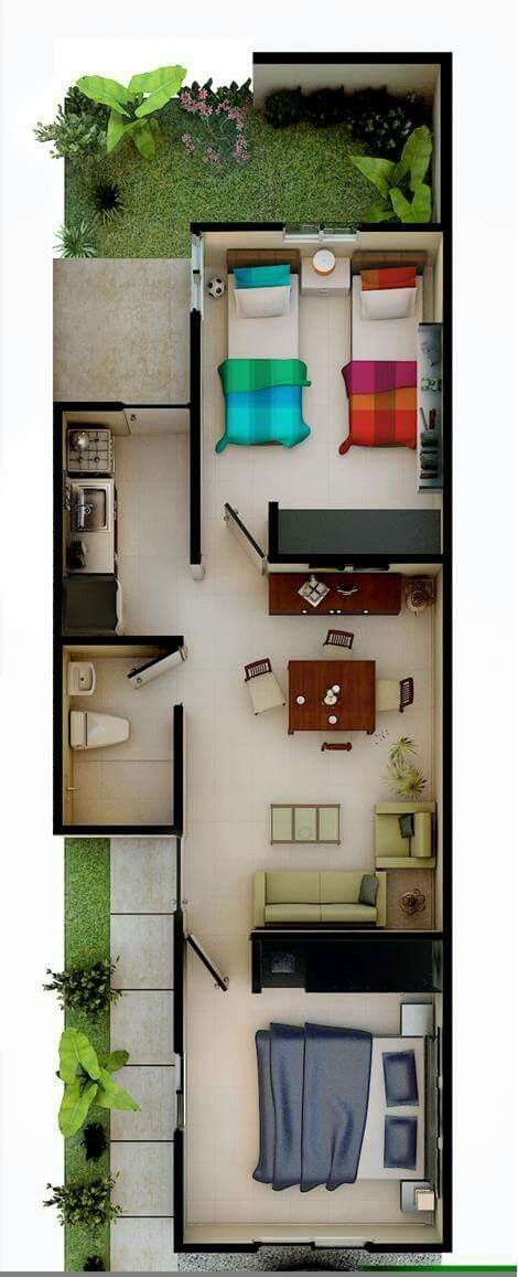 Modern tiny house cabin plans living cozy floor apartment bedroom casa ideal also best images small rh pinterest