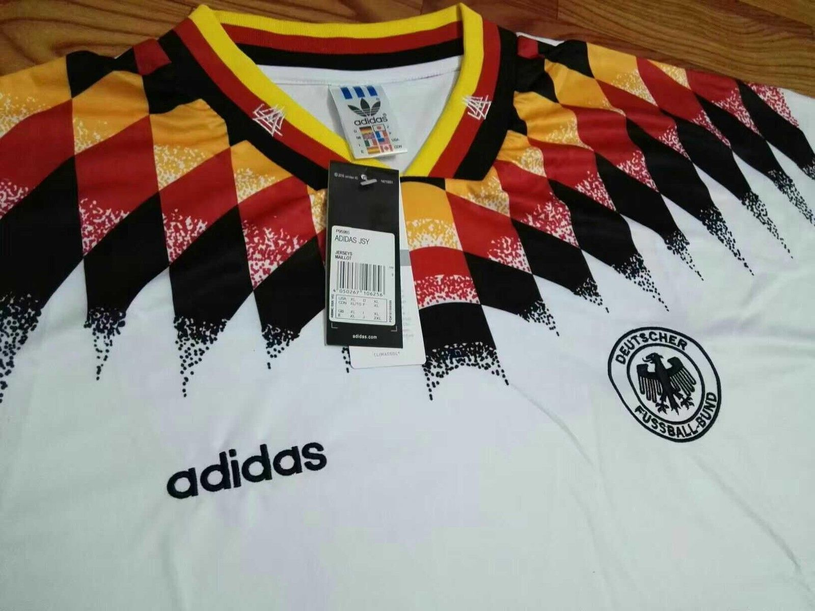 Retro Vintage 1994 Fifa World Cup Germany Soccer Jersey Fifa World Cup Soccer Jersey Fifa
