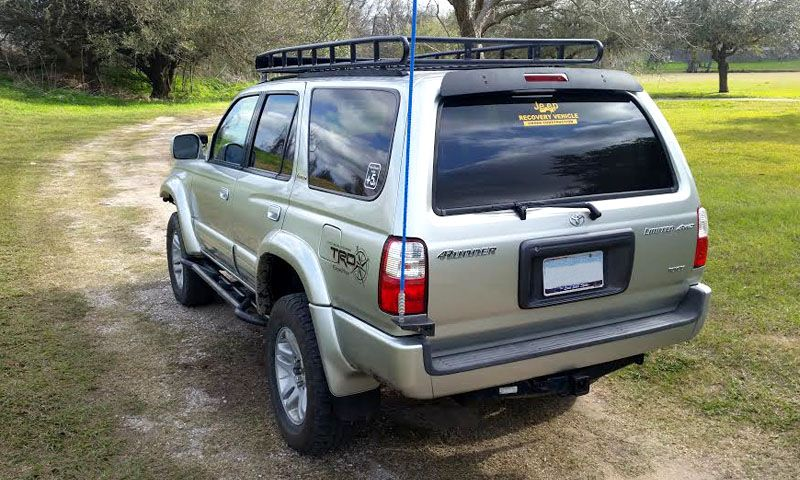 4Runner Gen 3 Standard Basket (long) Rack 4runner, Top tents