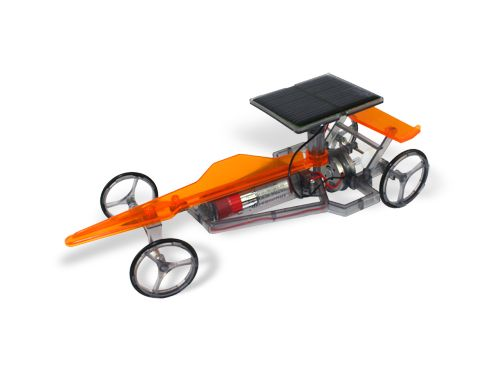 kit not only would building this solar powered car provide some great entertainment the car can be driven around in the sun at over 3 metres per second and