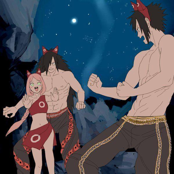 Sasuke Wakes Up By Uendy On Deviantart: Pin By Beloved Luna On Sakura X Madara