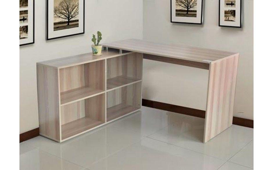 Computer Desk Corner PC Table Workstation Wood Storage Furniture Home Office NEW