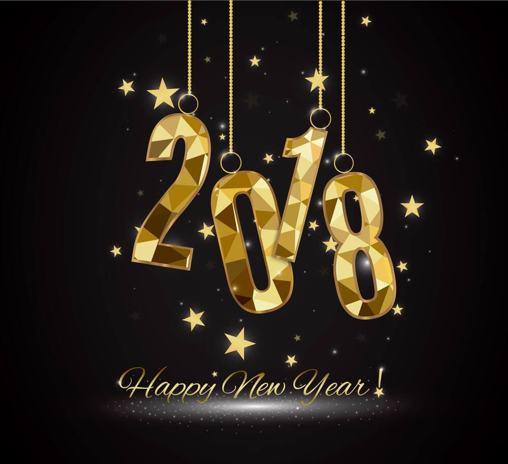 happy new year 2018 hd wallpapers free download | wallpaper free