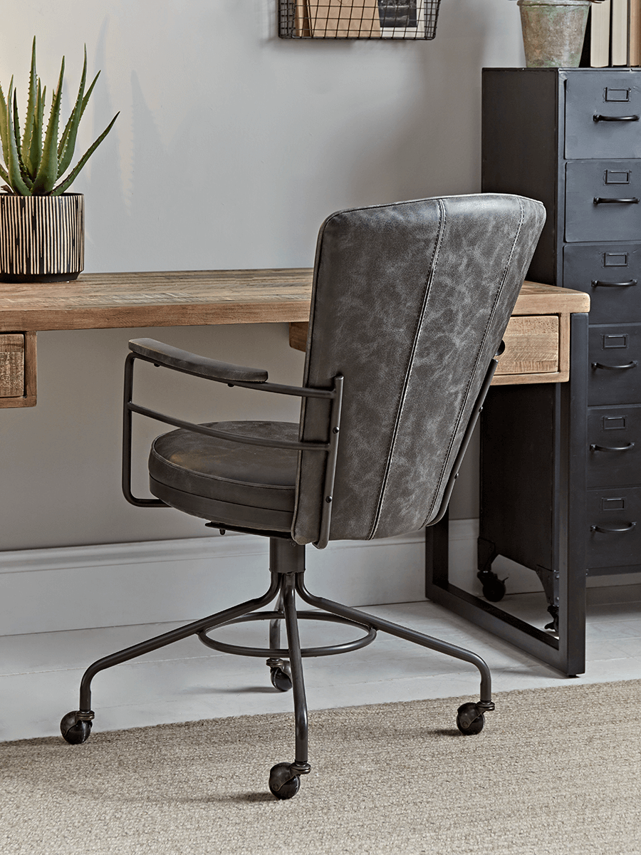 Industrial Style Office Chair In 2020 Industrial Style Office