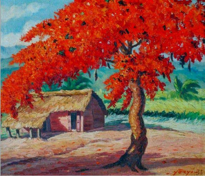 Galeria Dominican Republic: PAISAJE DOMINICANO Paisajes Rurales T Painting Art