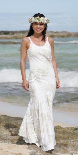 Princess Pauahi Hawaiian Wedding Dress
