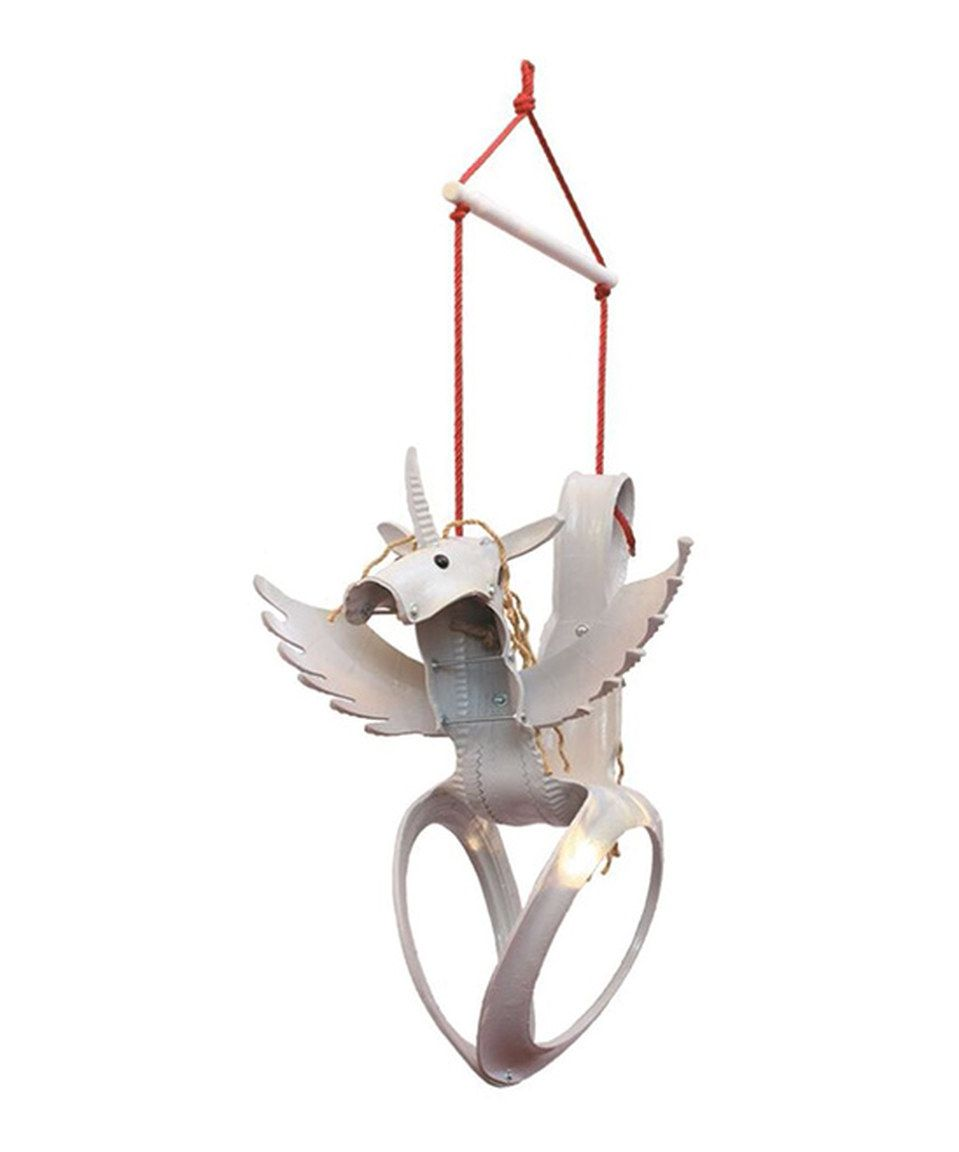 White Pegasus Tire Swing By Sparkling Line Inc Zulily