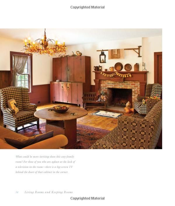 Early American Country Interiors Tim Tanner