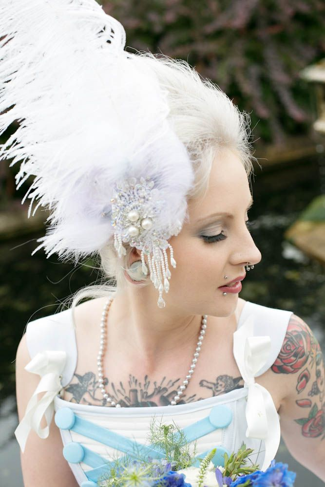 Marie Antoinette Inspired Vintage Wedding Fashion