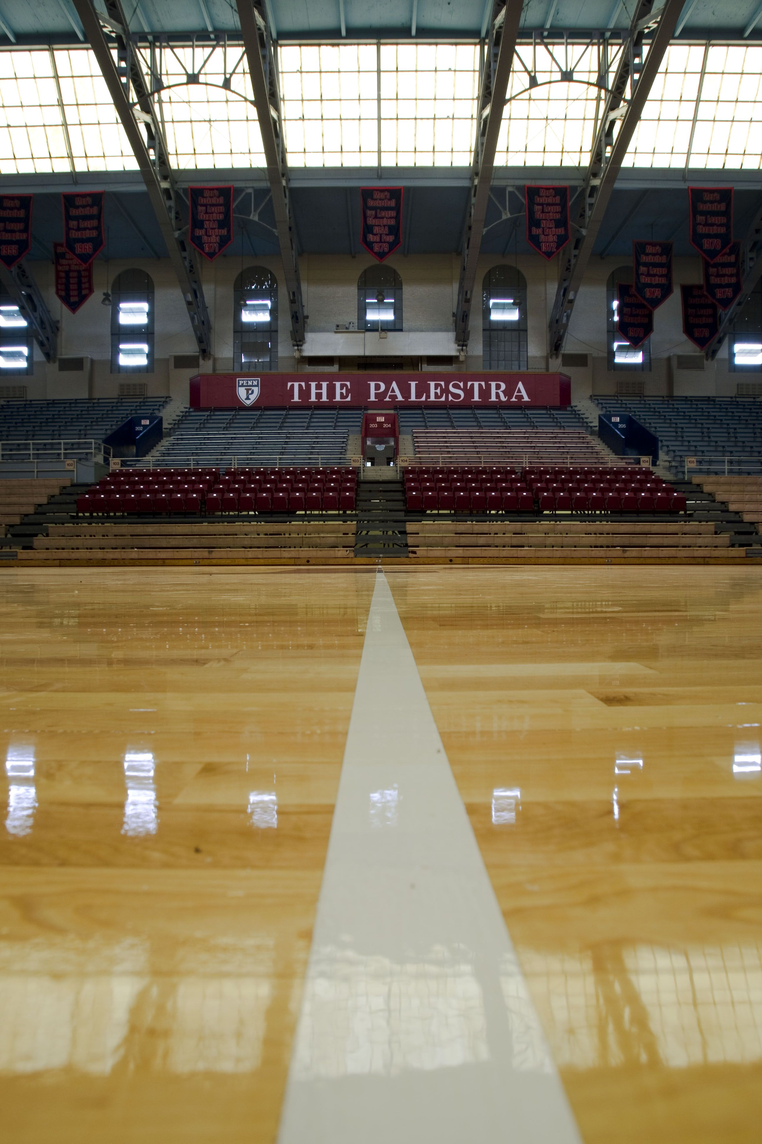 The Palestra Upenn Basketball Court Upenn College