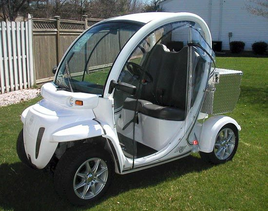 Gem Electricf Cars Electric Car Can Be Used On The Public Roads Posted At 35 Mph 56
