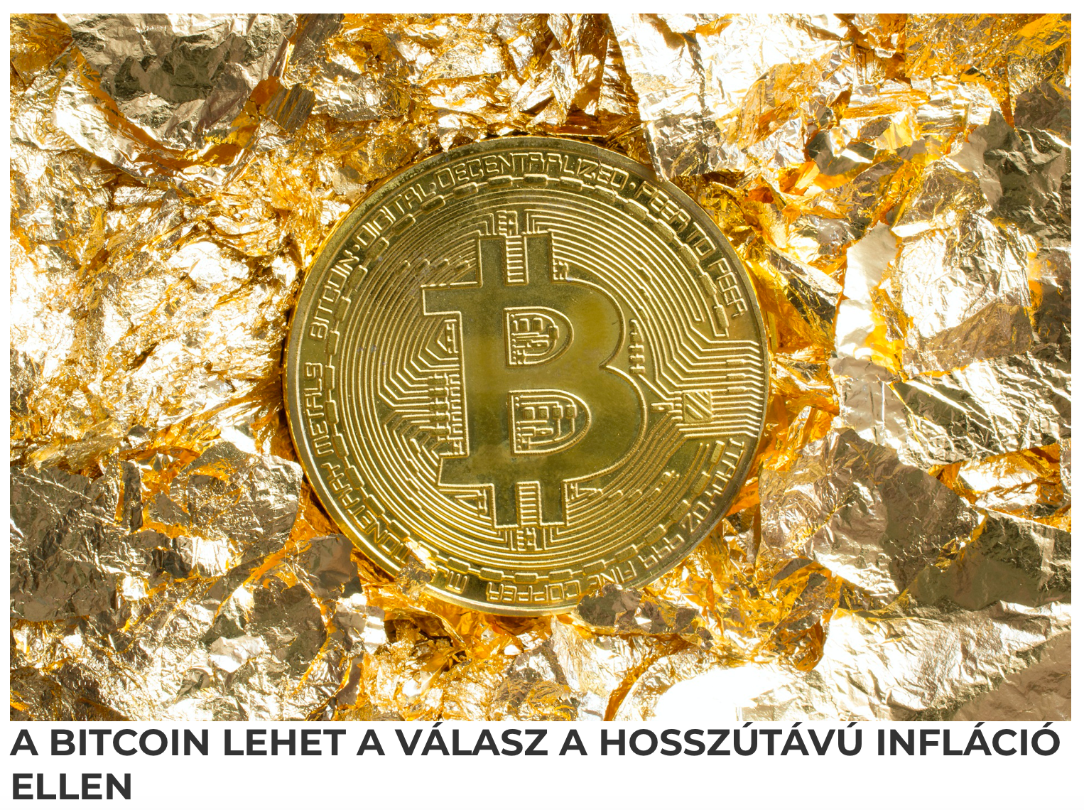 bitcoin infláció)