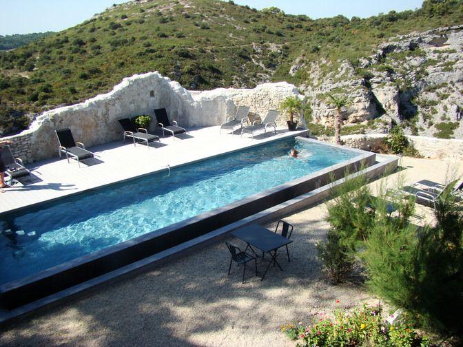 Chambre du0027hôte Maison Métafort à Méthamis Provence, Aix en - chambre d hotes aix en provence piscine