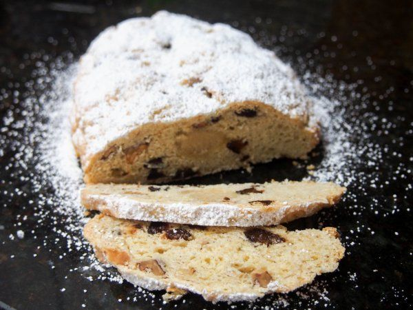 Stollen is Germany\u0027s Christmas cake - this version is made with