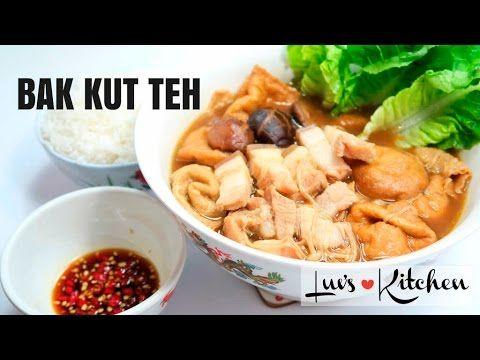 Bak Kut Teh Recipe (肉骨茶) Pork Bone Tea youtube