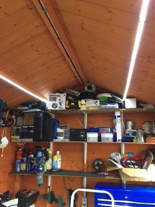 Shed 12v Solar Lighting System Best Solar Panels Solar Lighting System Solar Heating