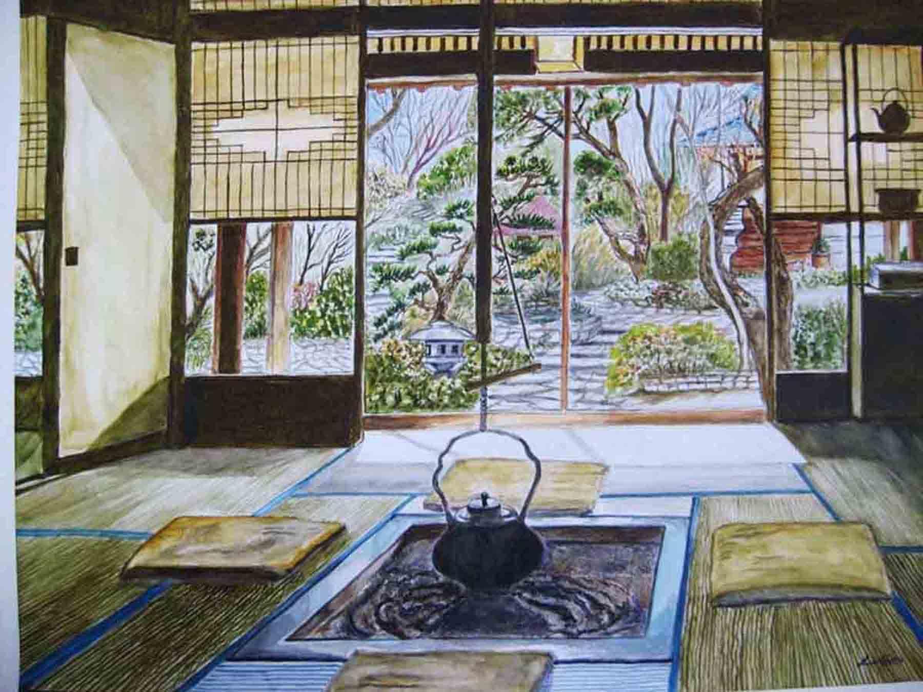 Japanese Tea Room Id