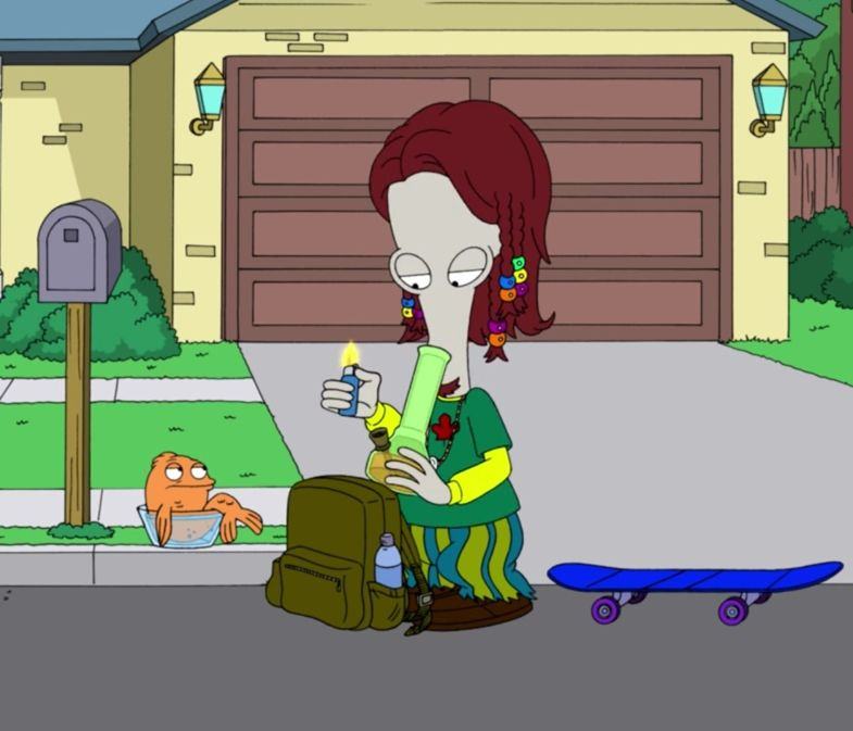 Pin By Mike Thompson On Animation American Dad Good Morning Usa