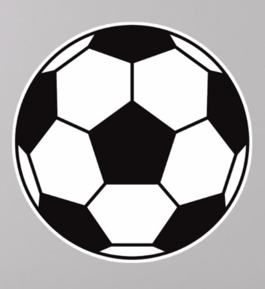 Soccer Ball Sticker Zazzle Com In 2020 Soccer Ball Soccer Soccer Aid