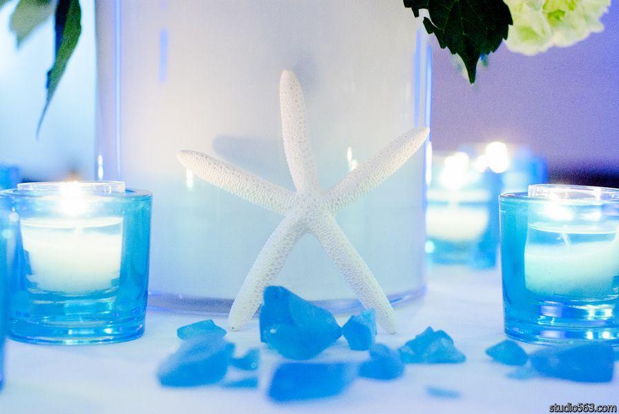 Starfish for beach themed reception