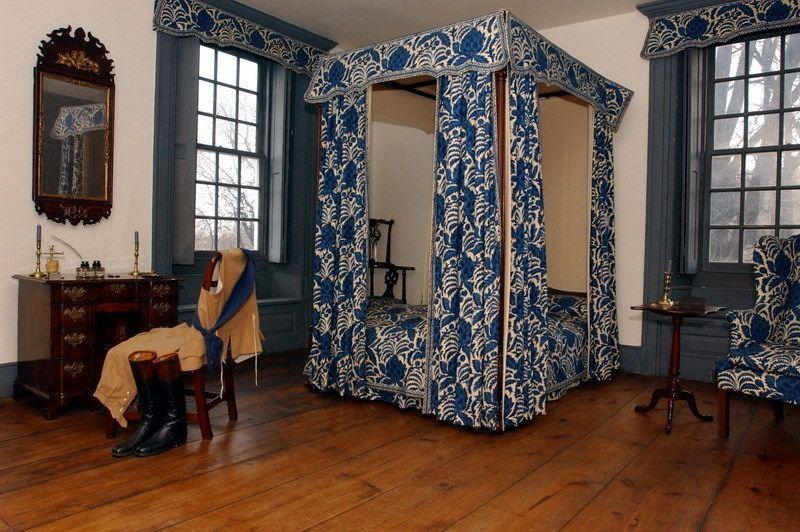 Bedroom at Van Cortlandt House, Bronx, NY